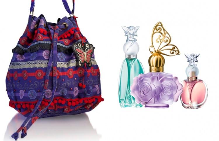 Модная сумка Anna Sui и автограф дизайнера в подарок