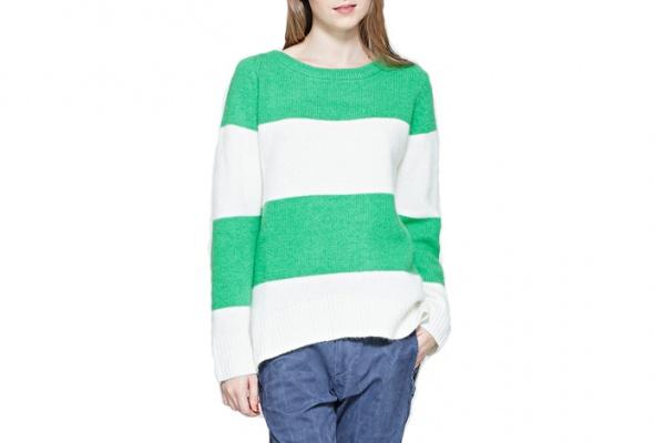 25теплых свитеров для девушек - Фото №23