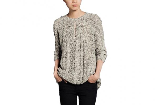 25теплых свитеров для девушек - Фото №9