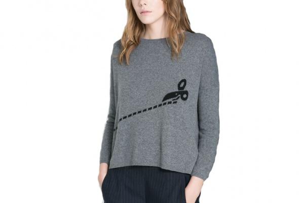 25теплых свитеров для девушек - Фото №12