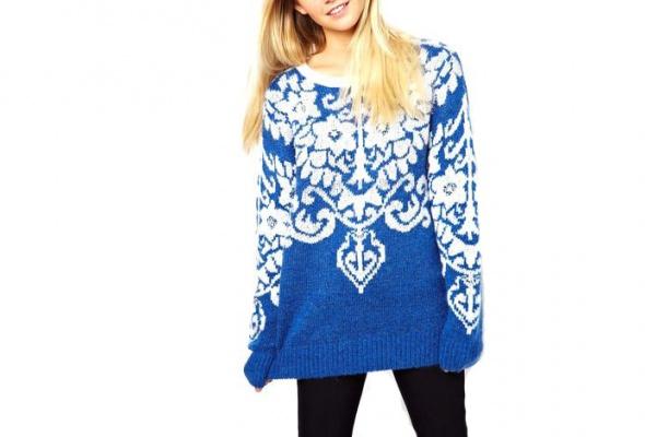 25теплых свитеров для девушек - Фото №8