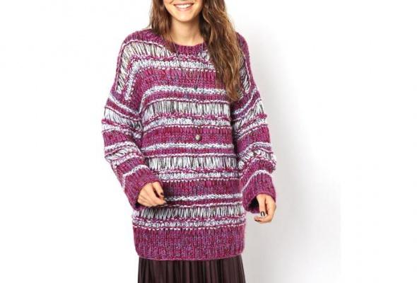 25теплых свитеров для девушек - Фото №11