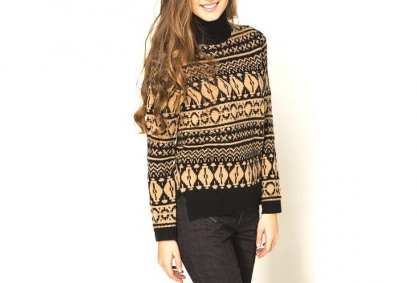 25теплых свитеров для девушек - Фото №24
