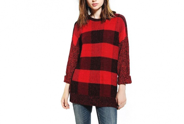 25теплых свитеров для девушек - Фото №2