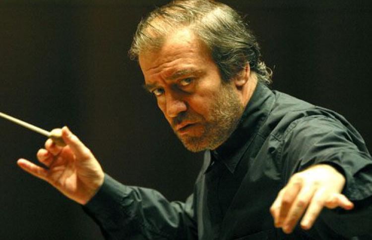 Алексей Стадлер и симфонический оркестр Мариинского театра под управлением Валерия Гергиева