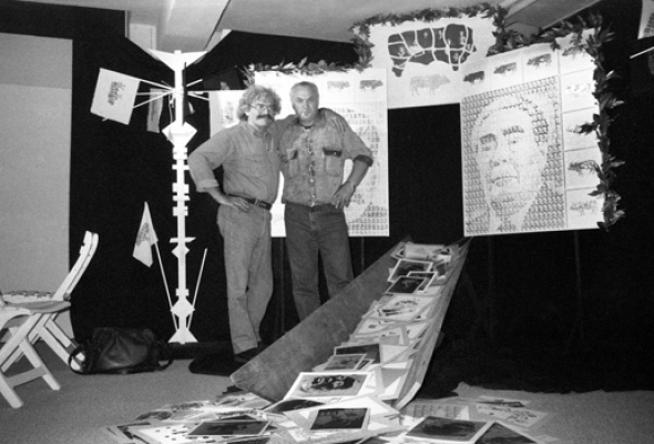 """Александр Забрин """"Люди современного искусства. 1985-1995"""" - Фото №2"""