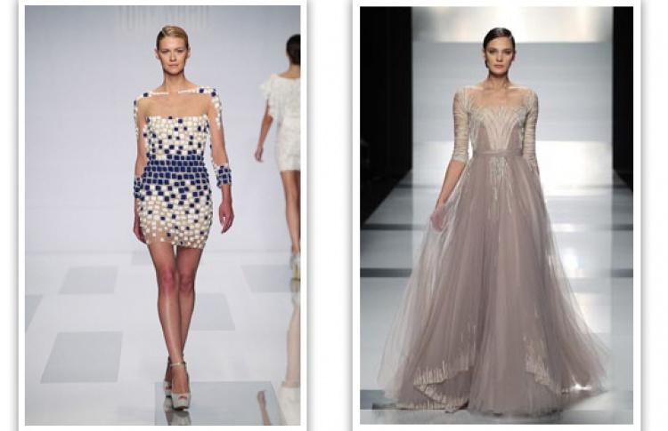 Показ Tony Ward в рамках Mercedes-Benz Fashion Week Russia