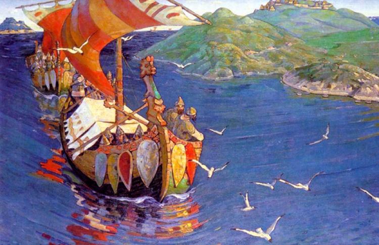 Шестнадцать картин великих русских художников