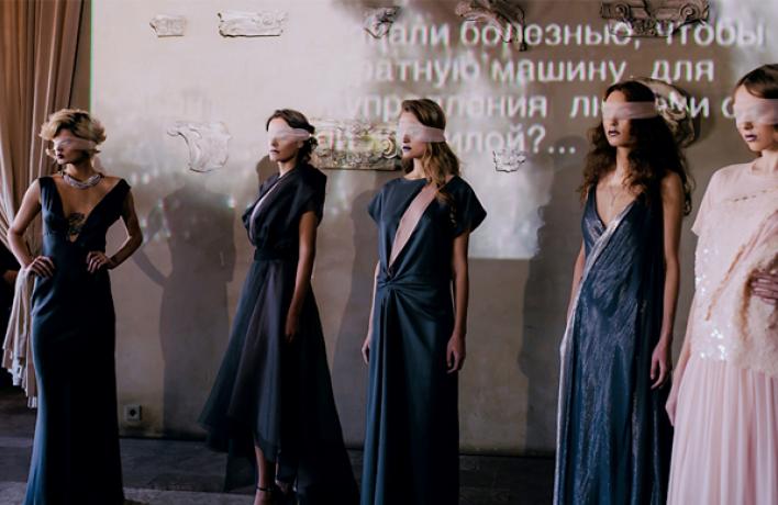 Коллекция платьев отPolina Raudson