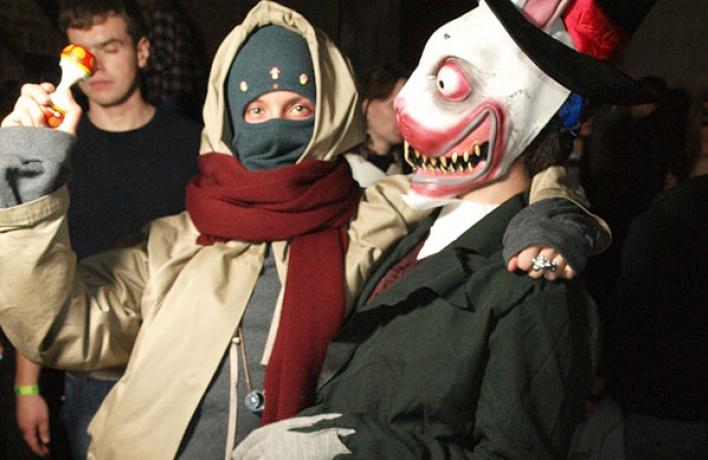 Хеллоуин: лучшие вечеринки