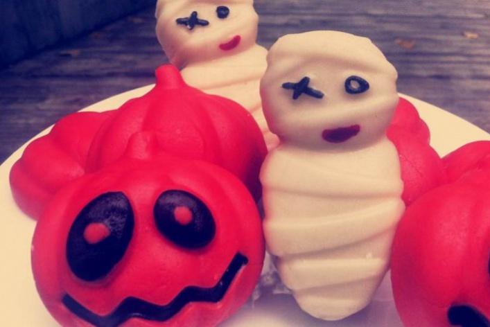 Страшная еда для страшного праздника