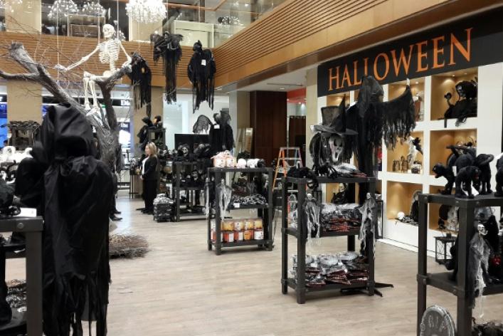 Костюм для Хеллоуина — лучшие места