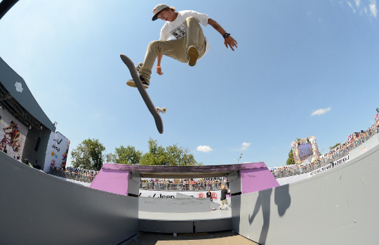 Skateboarding World Cup Moscow 2013