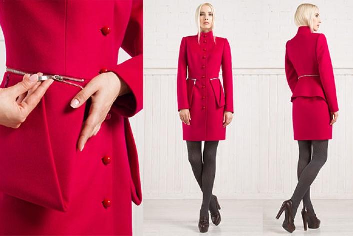 Екатерина Смолина выпустила коллекцию пальто Smart coat
