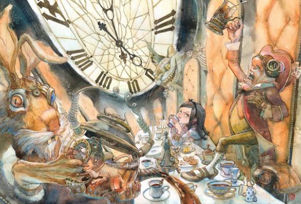 222 лучших молодых книжных иллюстратора +1 почетный гость изстран бывшего СССР - Фото №6
