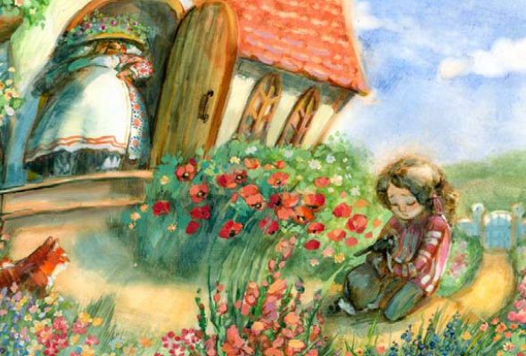 222 лучших молодых книжных иллюстратора +1 почетный гость изстран бывшего СССР - Фото №7