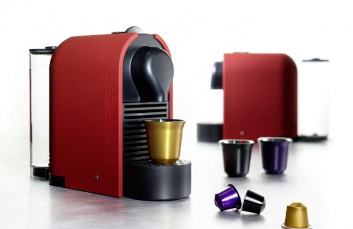 Nespresso расширяет коллекцию кофе-машин U