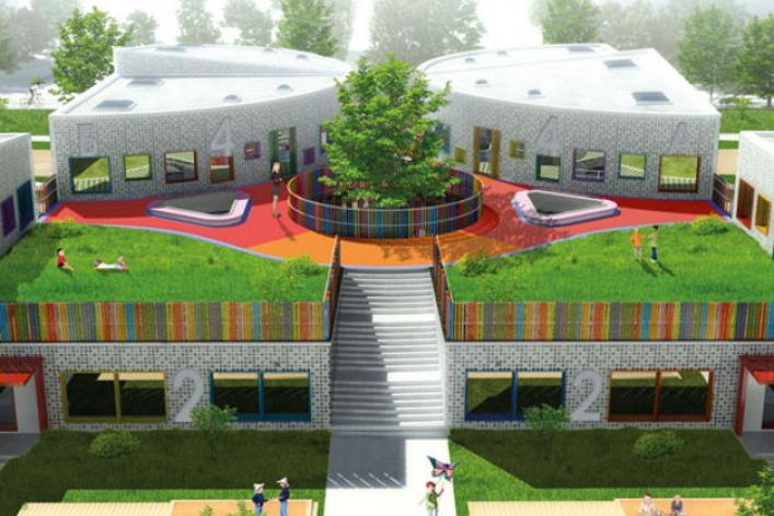 Новый облик детских садов
