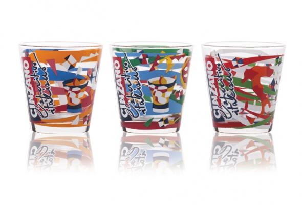 Cinzano представляет новую серию стаканов «The Spirit OfItaly» - Фото №0