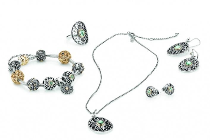 Pandora выпустила коллекцию украшений ввинтажном стиле