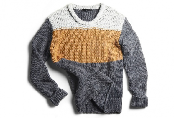 Серые акценты вмужской коллекции Calvin Klein Jeans - Фото №7
