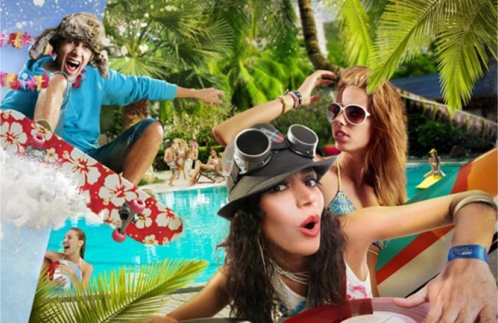 7декабря вбассейне «Чайка» пройдет пляжная вечеринка «Гавайский снег»