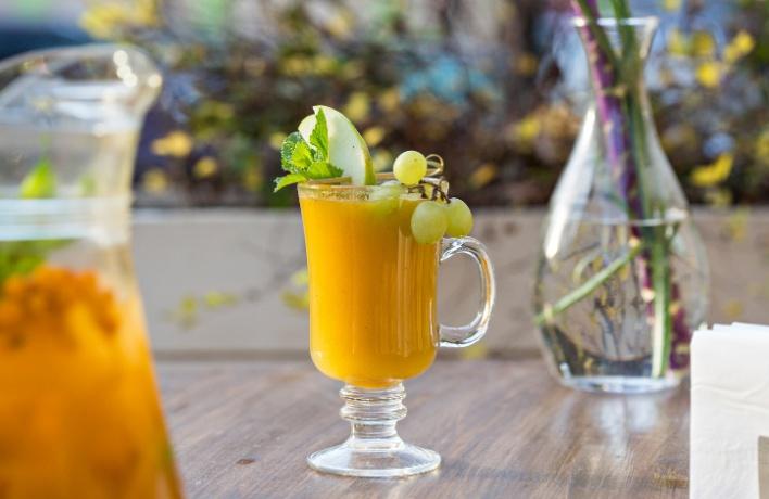Зимняя еда: теплые напитки