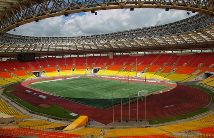 Большую спортивную арену «Лужники» готовят креконструкции