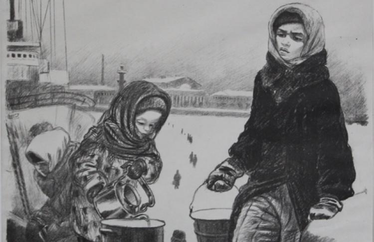 Выставка к 70-летию со дня полного снятия блокады Ленинграда