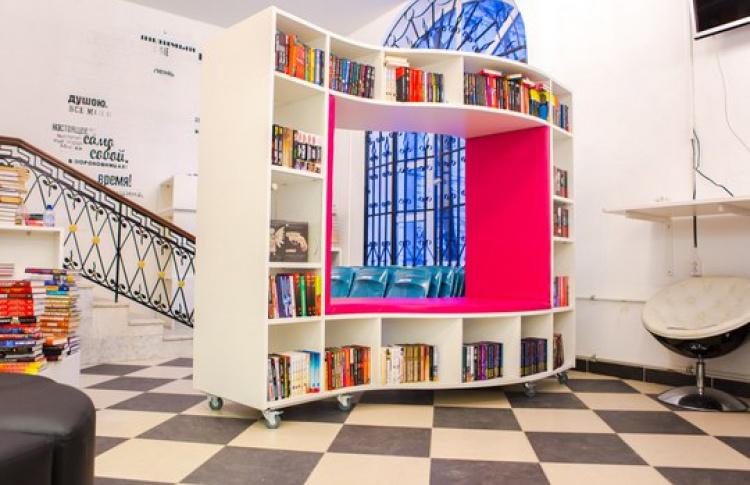 Открытие библиотеки имени Гоголя