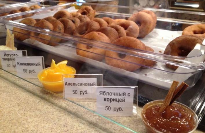 ВМоскве открылась кофейня «Пончик&Ко»