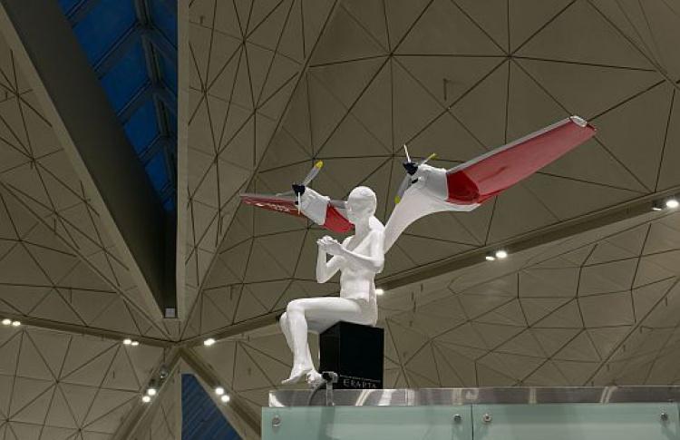Вновом терминале «Пулково» разместят четыре скульптуры Шорина