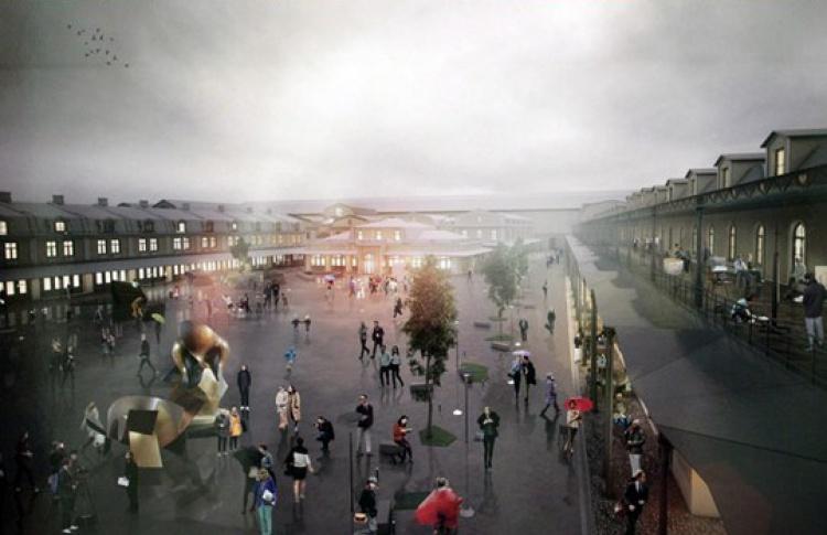 ВСмольном официально одобрили проект реконструкции Апраксина Двора