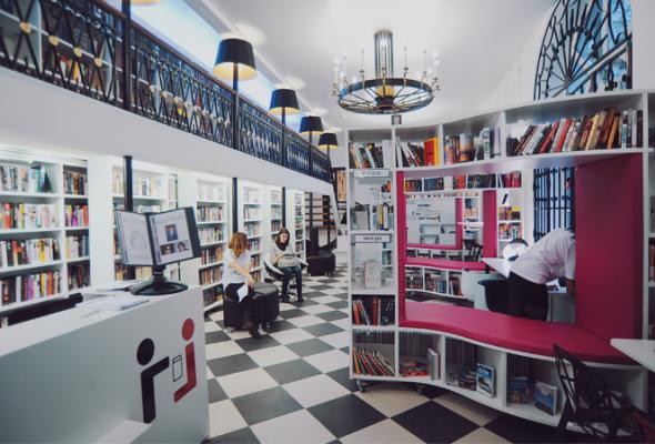 Книгохранилище нашего времени: библиотека имени Гоголя - Фото №1