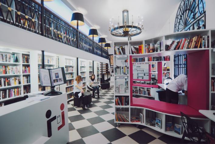 Книгохранилище нашего времени: библиотека имени Гоголя