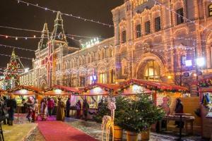 Рождественская ГУМ-ярмарка