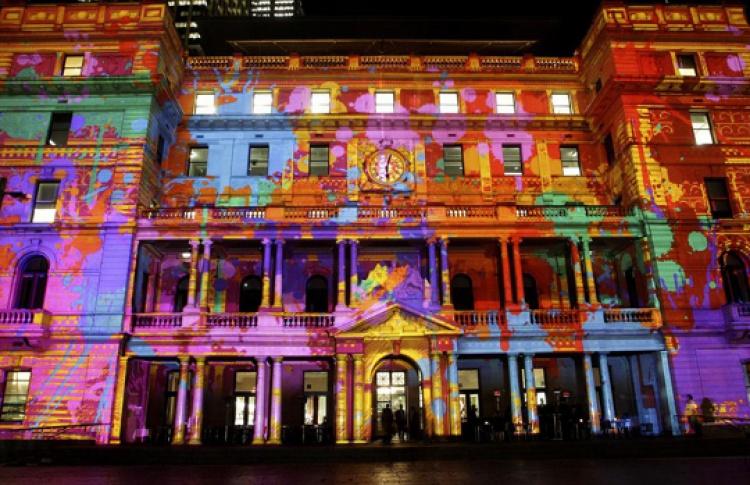Новогоднее аудио-визуальное 3D шоу «Сны Москвы»