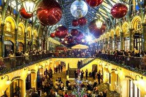 Рождественский Лондон, Нью-Йорк иПариж