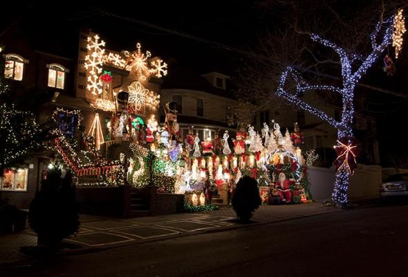 Рождественский Лондон, Нью-Йорк иПариж - Фото №2