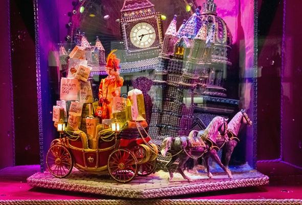 Рождественский Лондон, Нью-Йорк иПариж - Фото №3