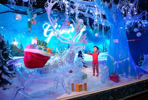 Рождественский Лондон, Нью-Йорк иПариж - Фото №4