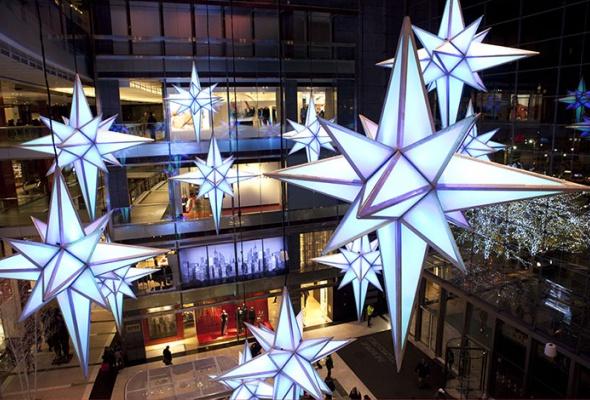 Рождественский Лондон, Нью-Йорк иПариж - Фото №5