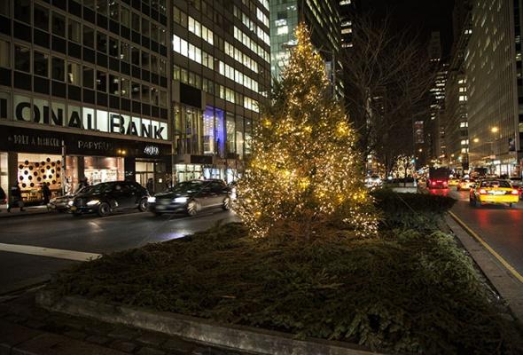 Рождественский Лондон, Нью-Йорк иПариж - Фото №6