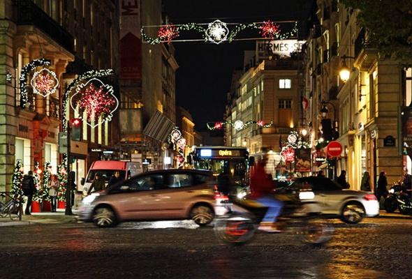 Рождественский Лондон, Нью-Йорк иПариж - Фото №8