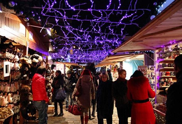 Рождественский Лондон, Нью-Йорк иПариж - Фото №10