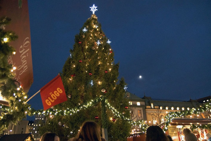 Лучшие новогодние елки мира: фотогалерея
