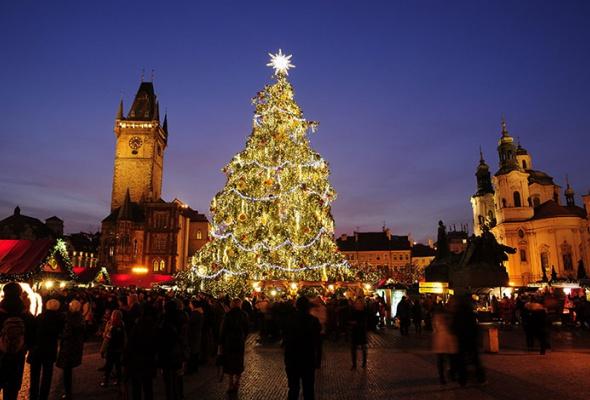 Лучшие новогодние елки мира: фотогалерея - Фото №8