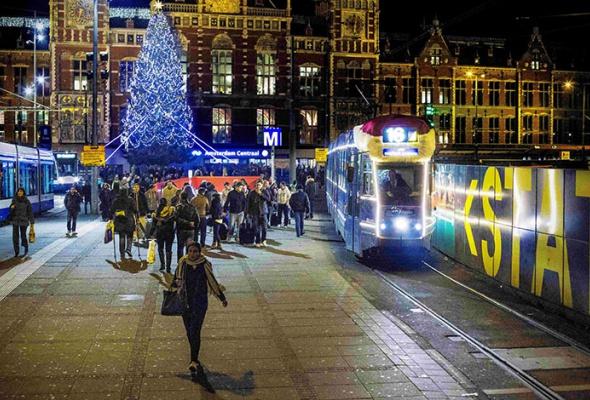 Лучшие новогодние елки мира: фотогалерея - Фото №10