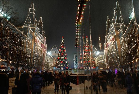 Лучшие новогодние елки мира: фотогалерея - Фото №1
