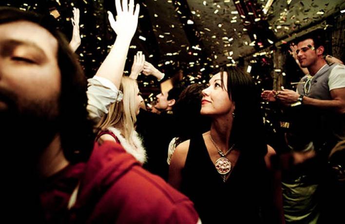 Лучшие новогодние вечеринки